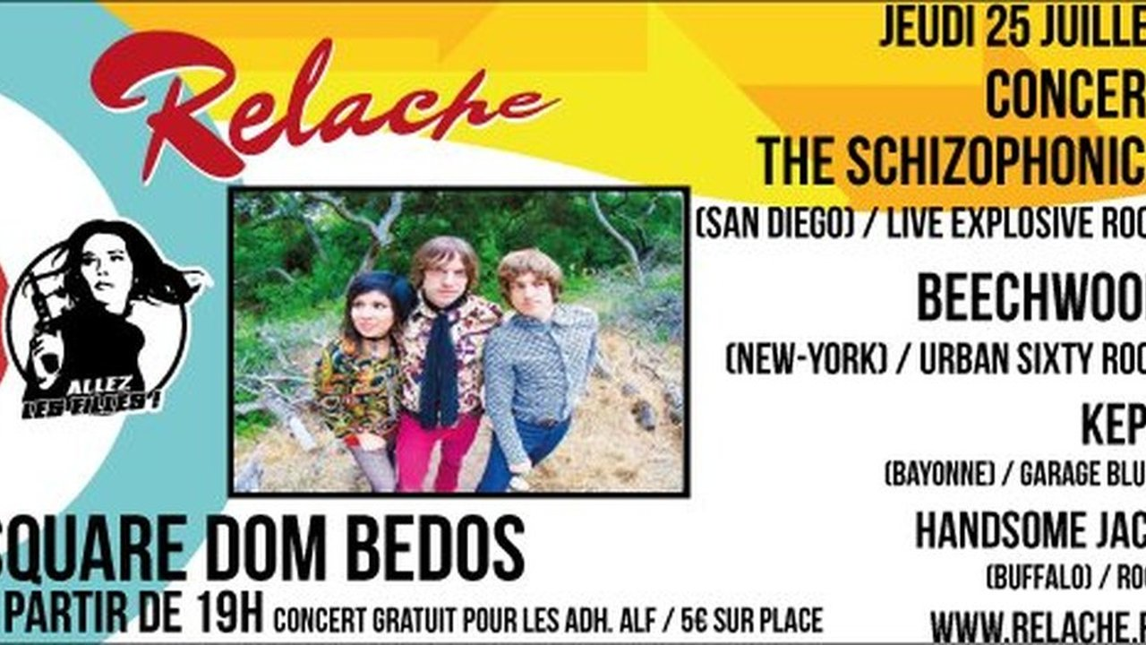 Relache n°10 - The Schizophonics + Beechwood + Kepa + Handsome Jack