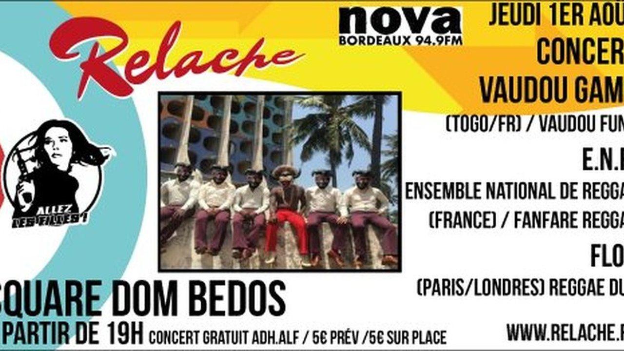 Relache n°10 - Vaudou Game + E.N.R + Flox