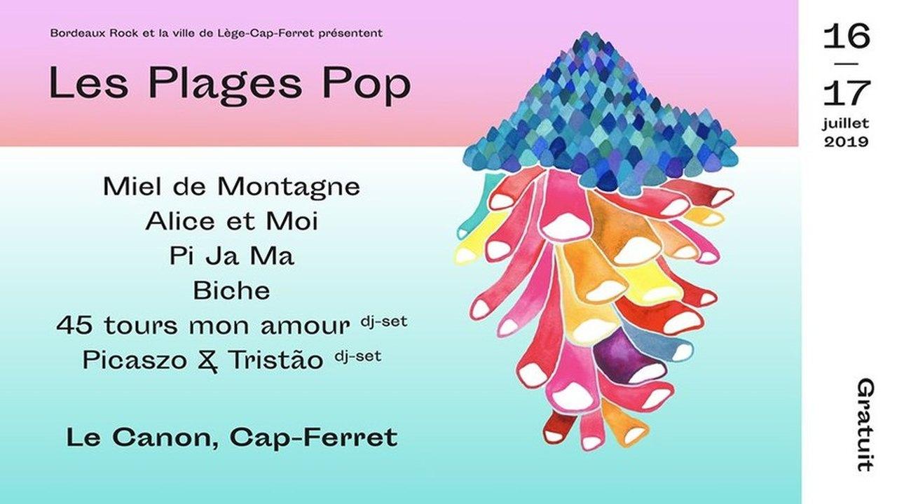 Festival Les Plages Pop 2019