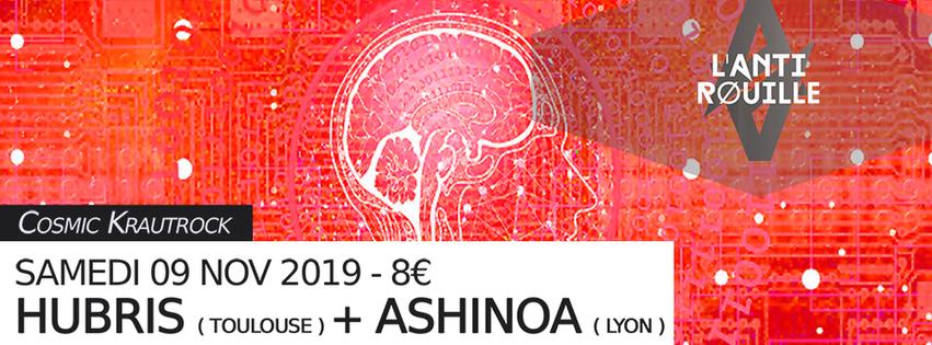 Hubris + Ashinoa