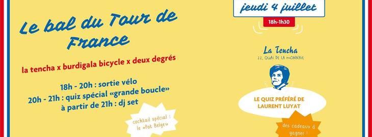 Le Bal du Tour de France : quiz, DJ, ...
