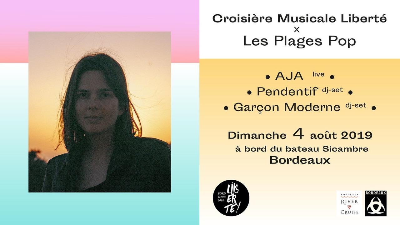 Croisière Musicale Liberté x Les Plages Pop