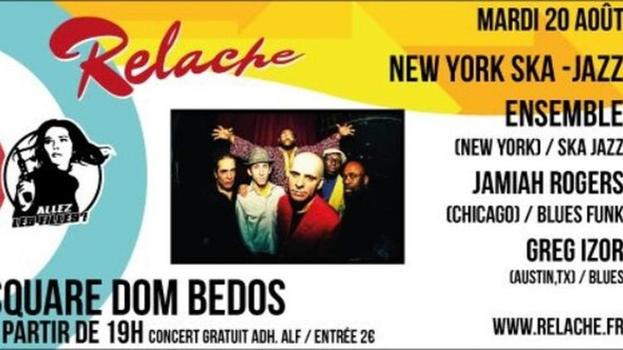 Relache n°10 - NYSJE + Jamiah Rogers + Greg Izor