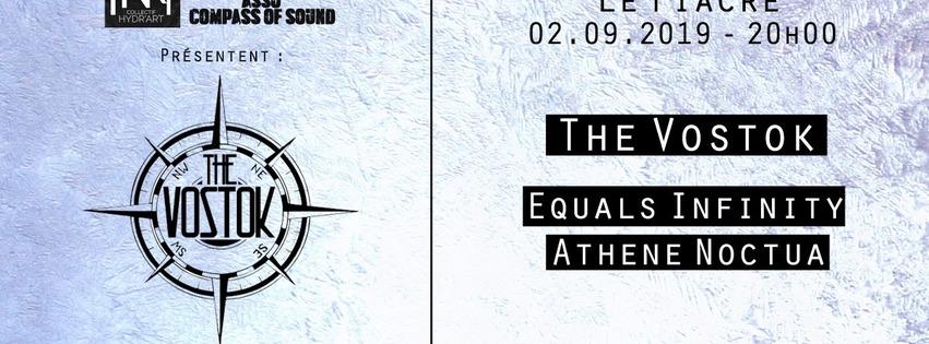 THE VOSTOK + EQUALS INFINITY + ATHENE NOCTUA