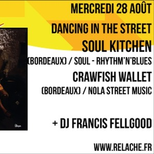 Relache n°10 - Soul Kitchen + Crawfish Wallet