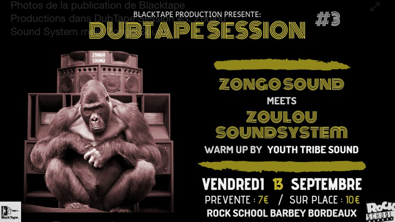 DubTape Session #3 : Zoulou Sound System meet Zongo Sound