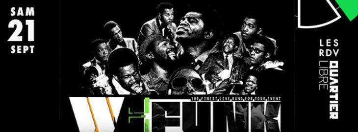 4 ans du Quartiuer Libre : avec We Funk All Stars + Dreego dj set
