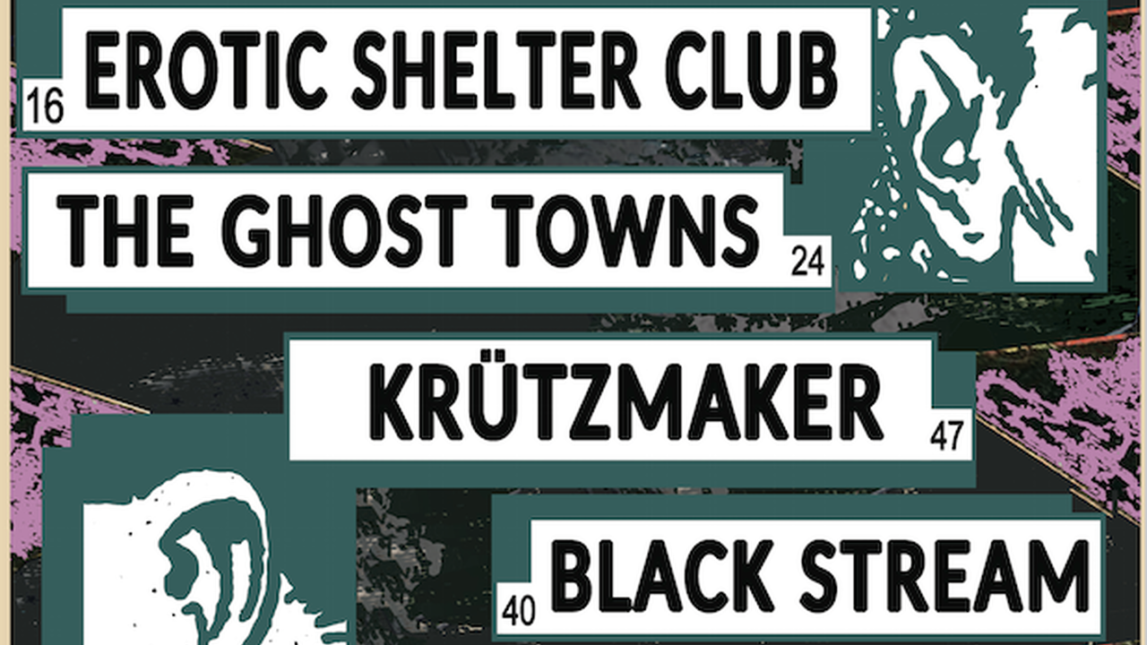 La Tournée #8 avec Erotic Shelter Club + The Ghost Towns + Krützmaker + Black Stream + Le Désordre