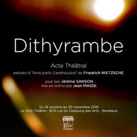 Dithyrambe