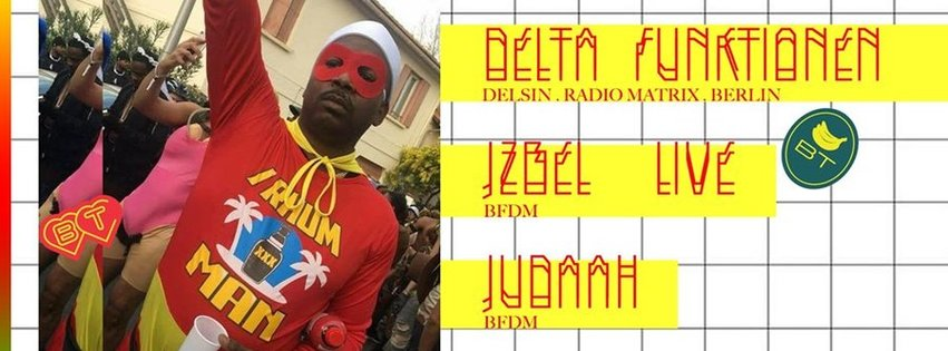 DELTA FUNKTIONEN + J-ZBEL live + JUDAAH