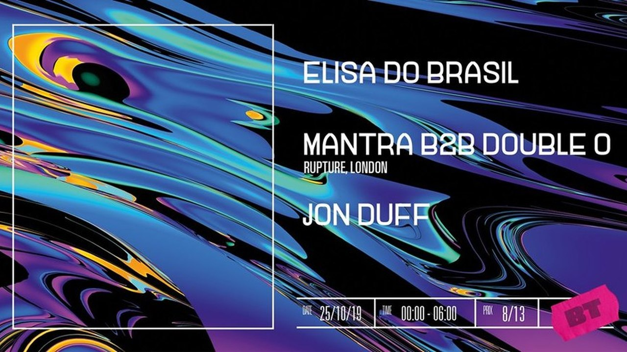 Elisa Do Brasil + Mantra B2B Double O + Jon Duff