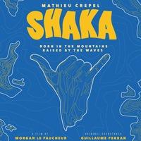 Projection de SHAKA, sur le snowboarder Mathieu Crepel