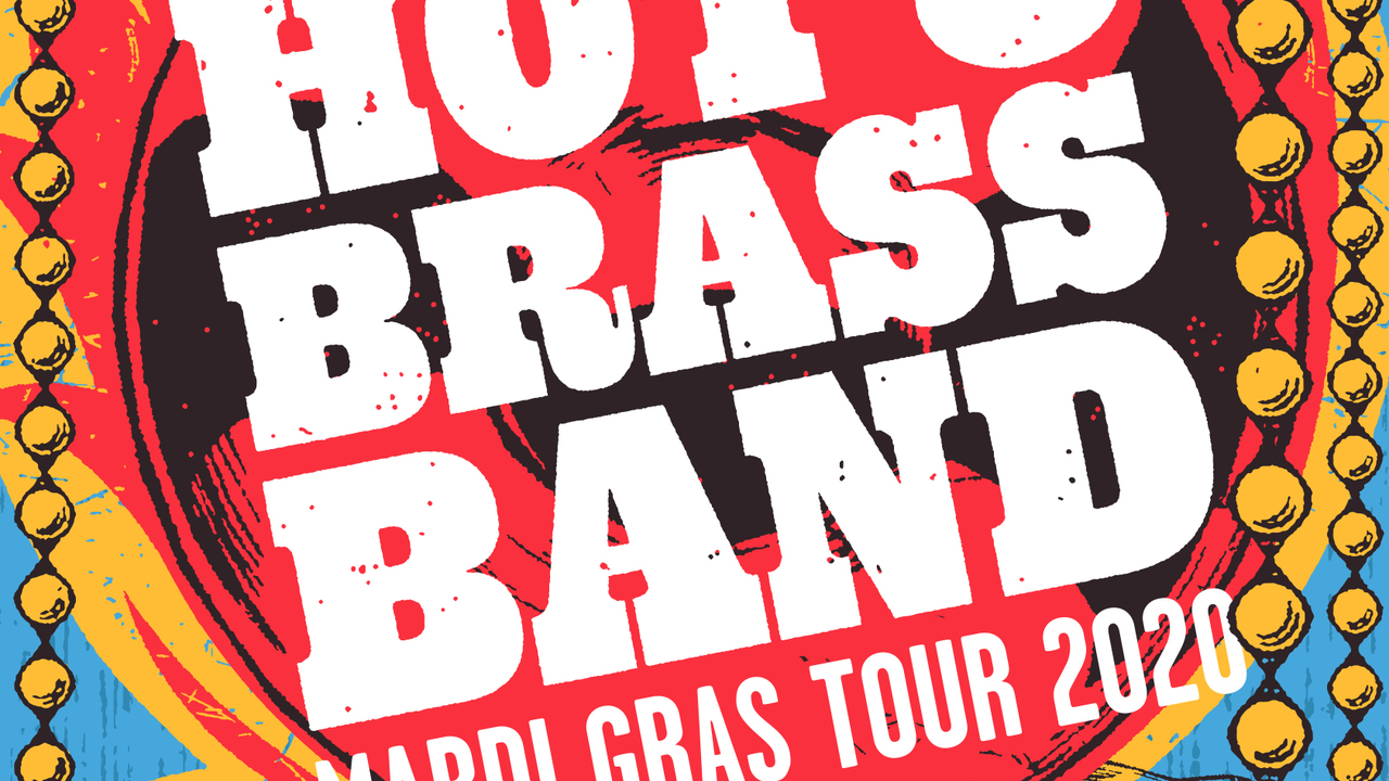 HOT 8 BRASS BAND + LEON NEWARS