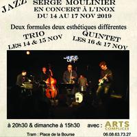 Serge Moulinier en trio et quintet