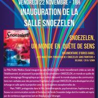 INAUGURATION SALLE SNOEZELEN