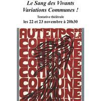 Le Sang des Vivants / Variations Communes!