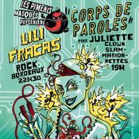 Soirée spectacle et concert des Piments Masqués