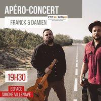 APERO CONCERT : FRANCK ET DAMIEN