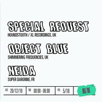 Special Request + Object Blue + Neida