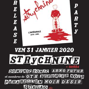 Strychnine + invités + KING KONG BLUES et JOHNNY MONTREUIL