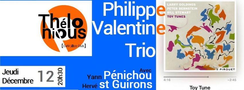 Philippe Valentine trio