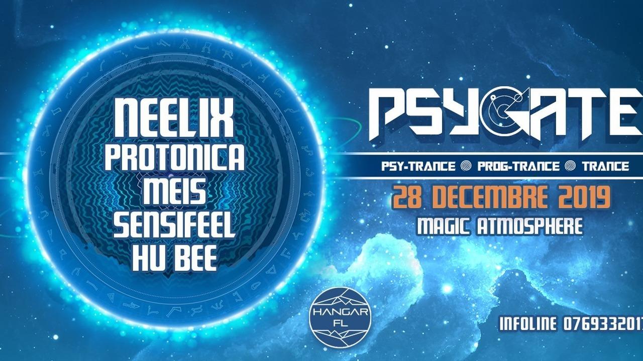 Psygate - avec Neelix + Protonica + Meis + Sensifeel + Hu Bee