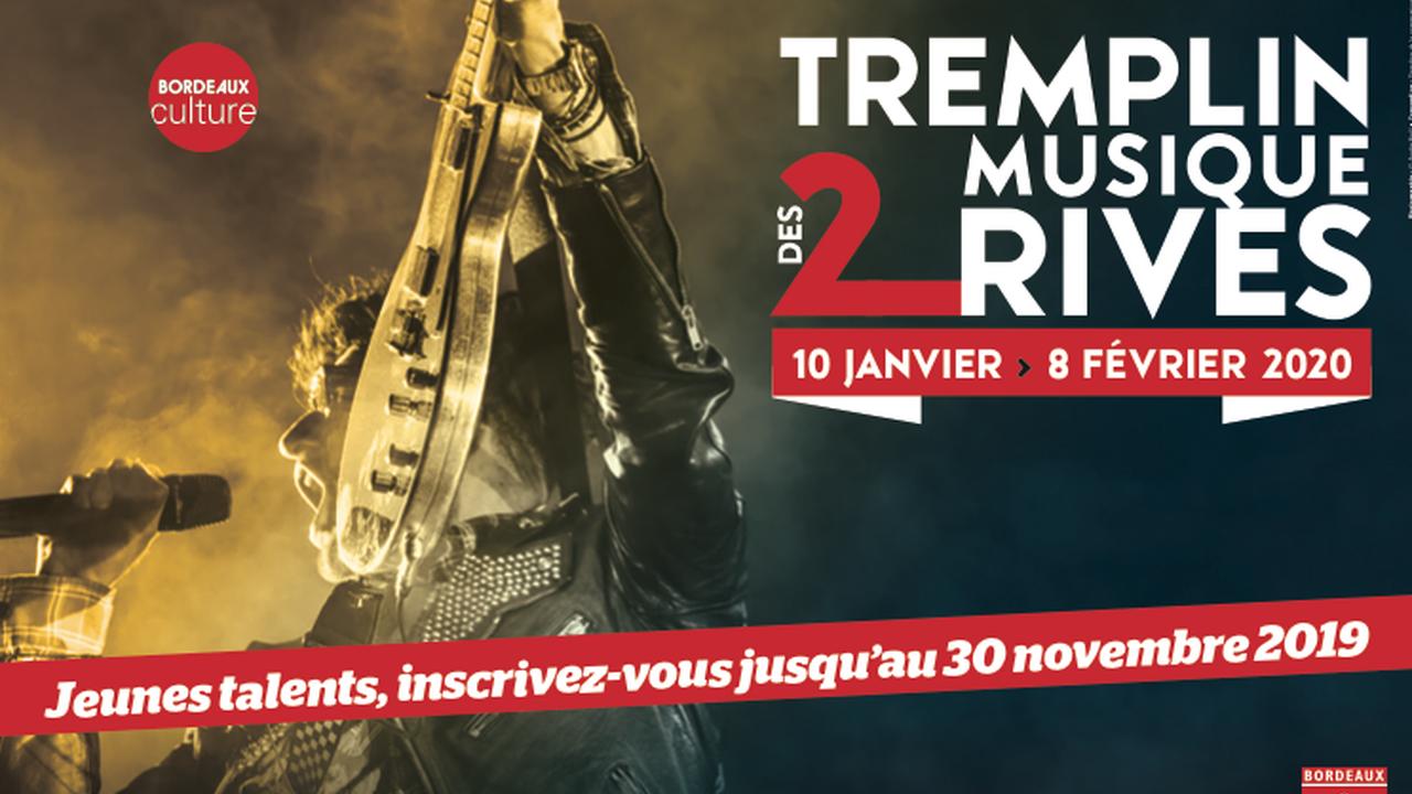 Tremplin Musique des 2 Rives : Finale Bordeaux Caudéran Avec Spell Shelter + Monsieur Durand + Quintana Dead Blues Experience + Herjay + Därk Vipers