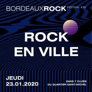 Bordeaux Rock #16 - Rock en ville avec Insomni Club + Wonkey + Thomas McFly dj-set