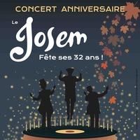 Concerts anniversaires du Josem - 32 ans