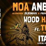 Dub temple #4 avec Moa Anbessa ft. Prince David + Wood Harmony ft. Twan Tee + Ital Vibes Sound System