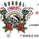 BORDAL NIGHT : avec WAKE THE DEAD + JODIE FASTER + REST IN PIT