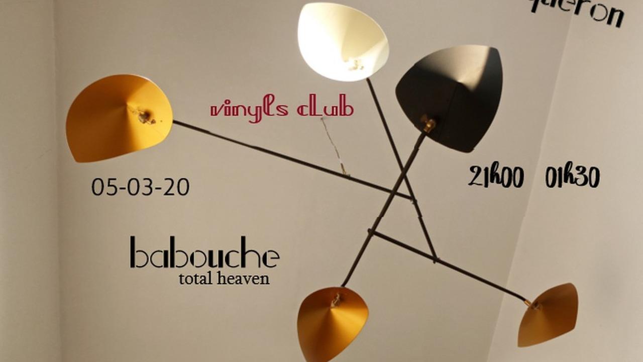 Le vinyls club : Babouche DJ Set