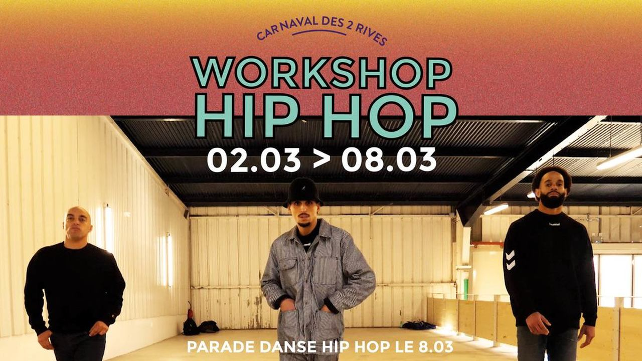 Carnaval Hip Hop (workshop + parade) | Cie Hors Série