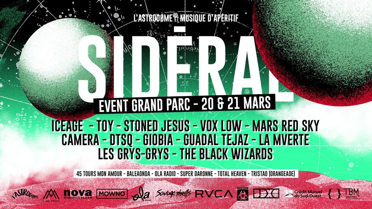 Sidéral Bordeaux Psych Fest 2020