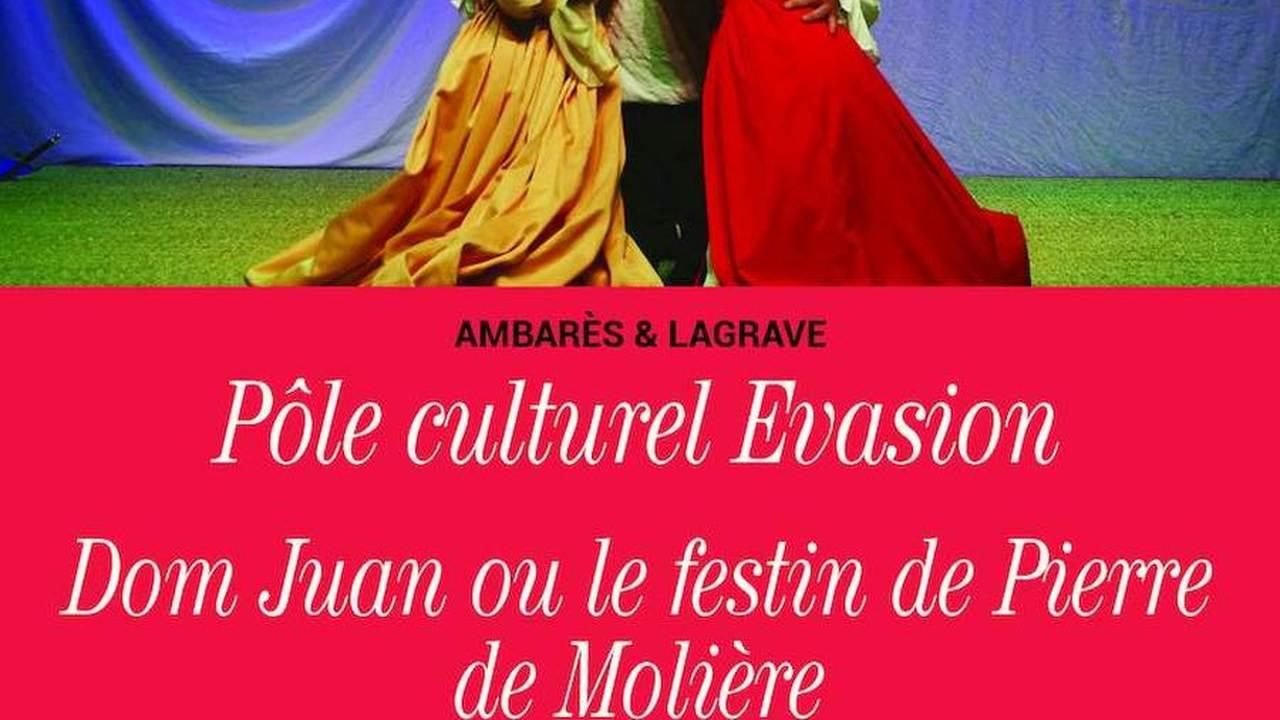 « Dom Juan Ou Le Festin de Pierre de Molière » / L'atelier du Théâtre du Pont Tournant