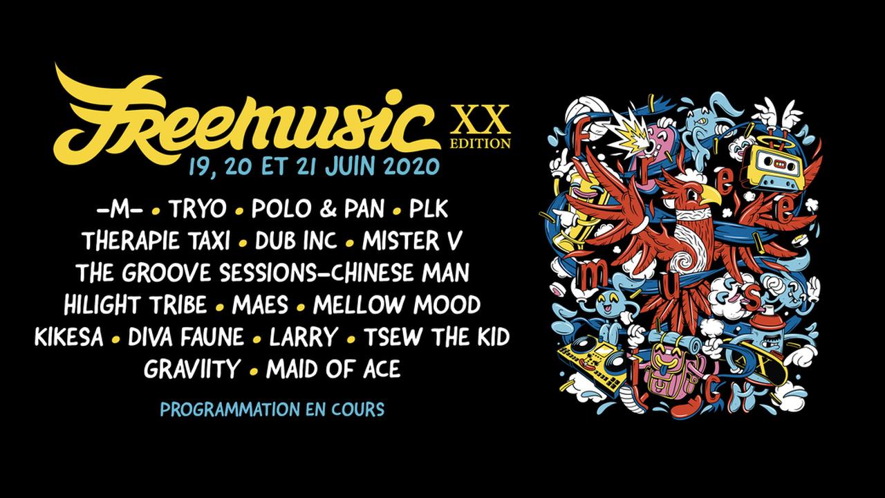Festival Freemusic 2020 - 20ème édition