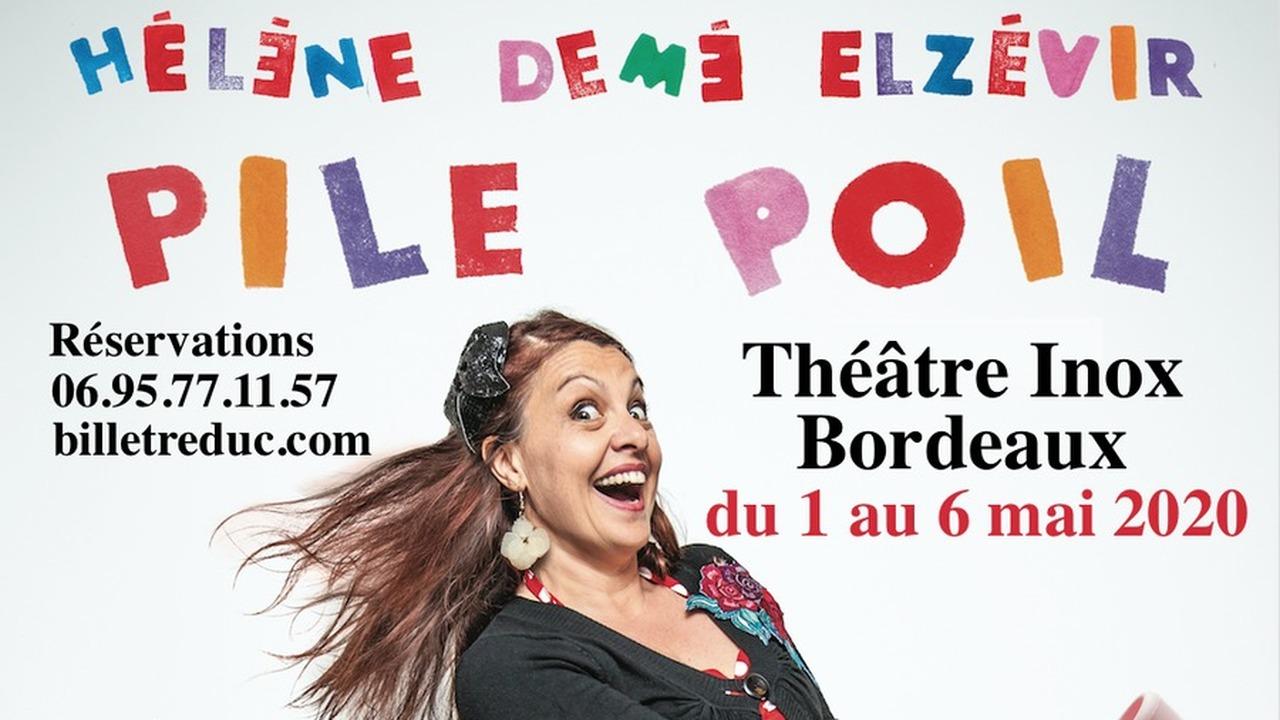 PILE POIL - One woman truc comique, de Hélène Demé Elzévir