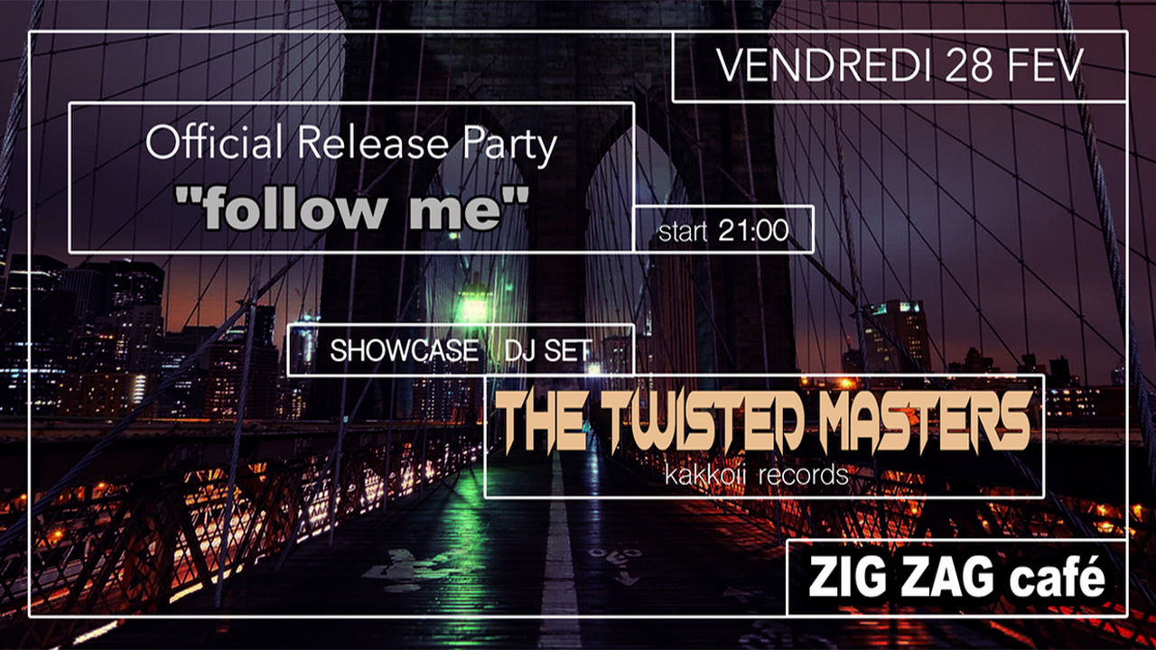 The Twisted Masters (release Party de