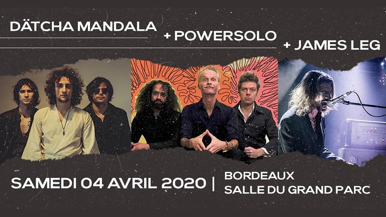 Powersolo + James Leg + Dätcha Mandala