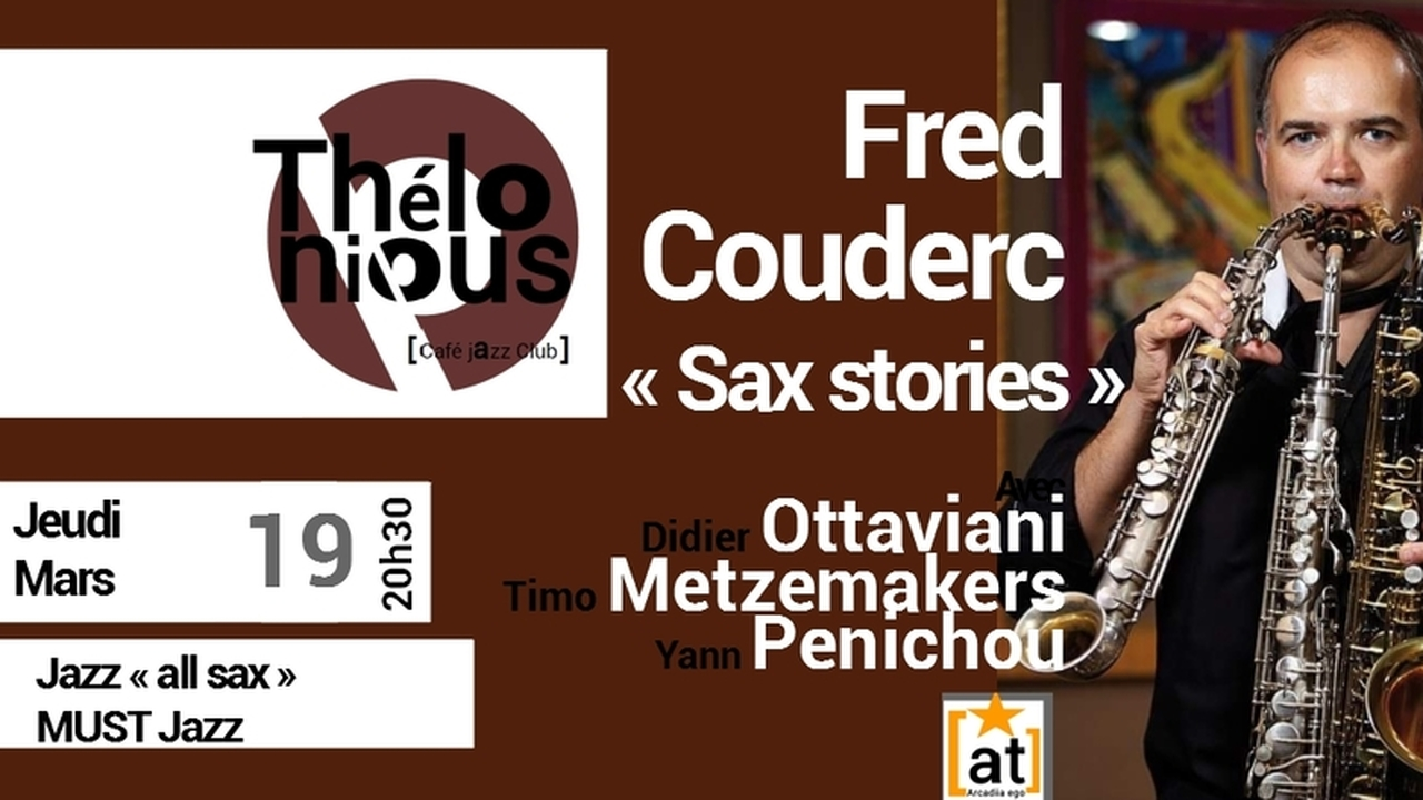 """Fred Couderc """"Sax stories"""""""