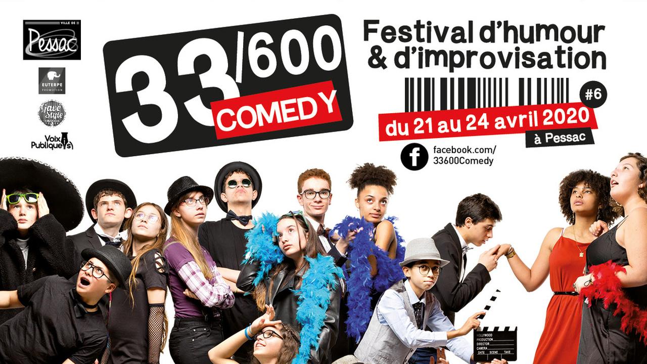 33/600 Comedy - Soirée de cloture : Fadily Camara + Djimo  + Redouane Bougheraba