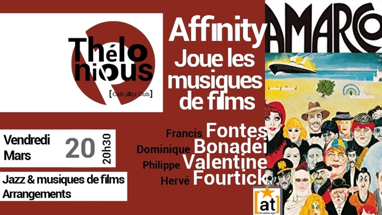 Affinity & les musiques de films
