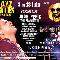 25ème JAZZ AND BLUES FESTIVAL / DENISE GORDON / MIKE SANCHEZ / DREW DAVIES