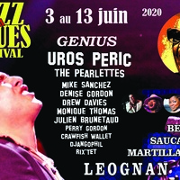 25ème JAZZ AND BLUES FESTIVAL / MONIQUE THOMAS / UROS PERIC / THE PEARLETTS / DREW DAVIES