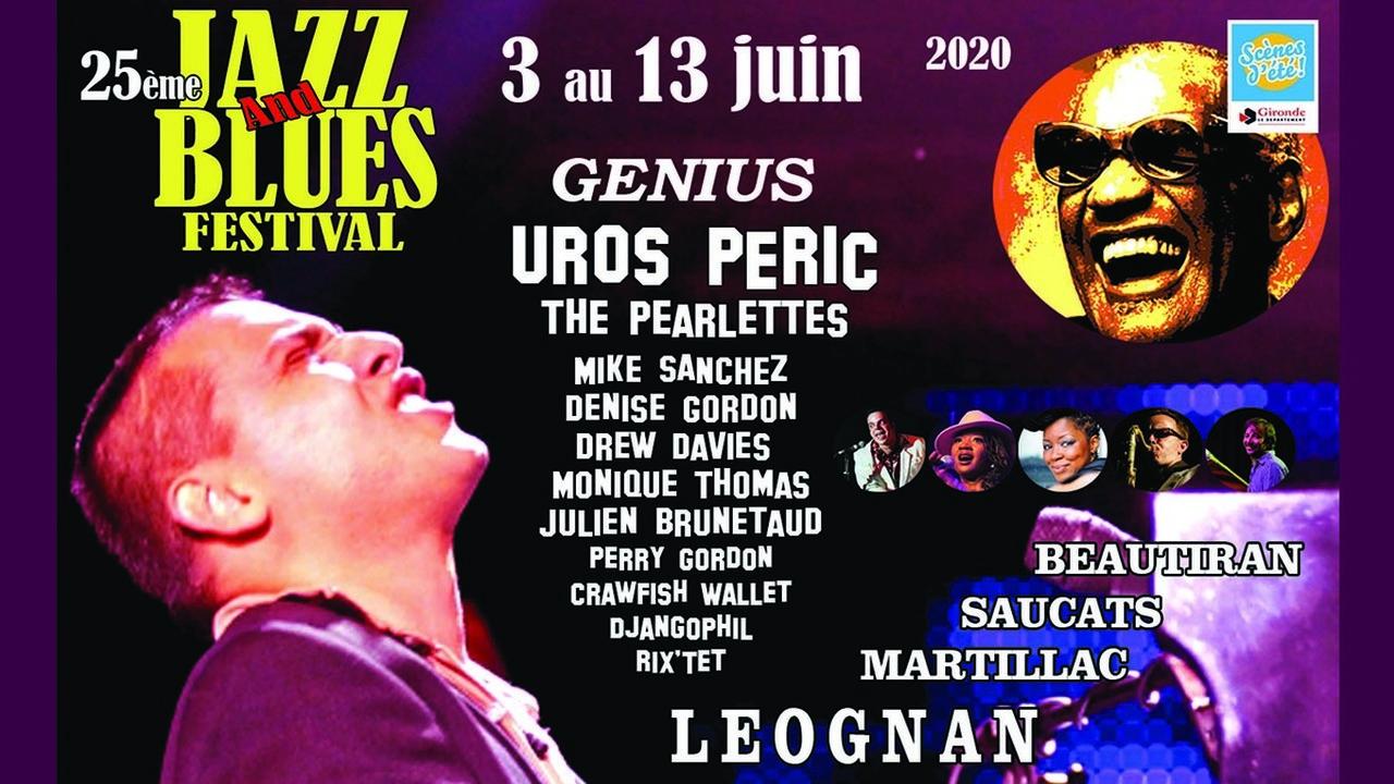 25ème JAZZ AND BLUES FESTIVAL / MONIQUE THOMAS / UROS PERIC / THE PEARLETTS / DREW DAVIES