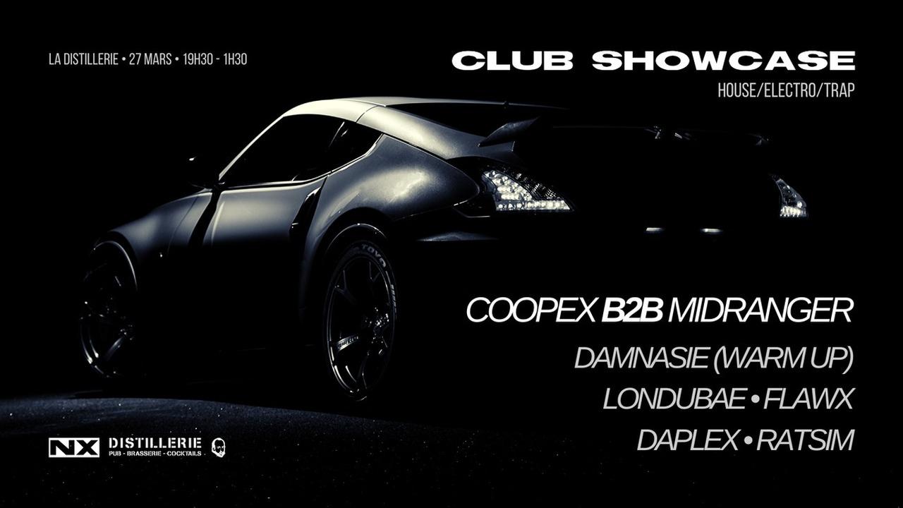 Club Showcase avec Coopex + Midranger