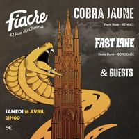 PUNK ROCK SHOW : avec COBRA JAUNE + FAST LANE + GUESTS