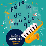 Fête de la musique - Scène ouverte à la Grande Poste
