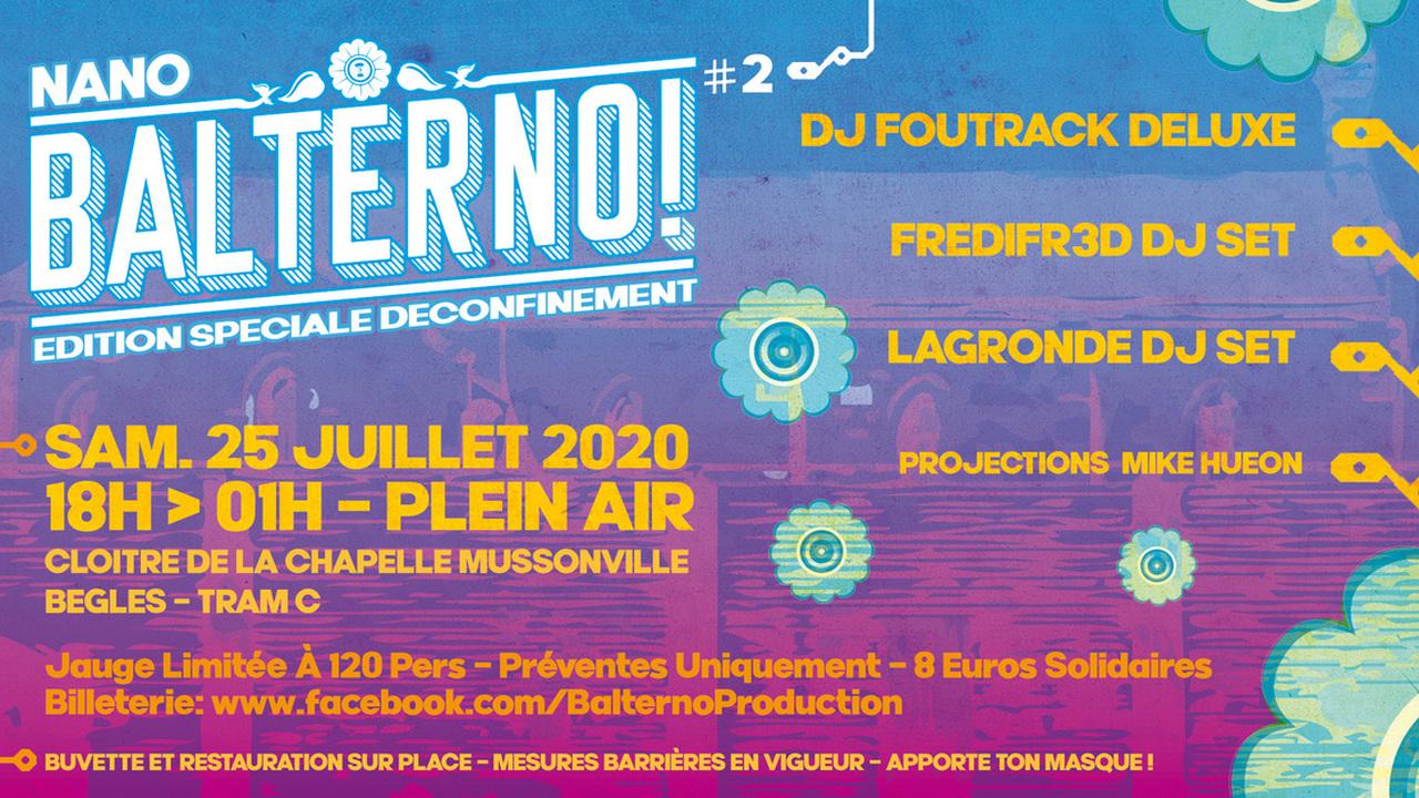 Nano Balterno #2 - Electro, Hip-Hop, Tropical Bass, Afrobeat