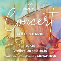 Traversées - Concert en duo flûte et harpe avec Maia et Myriam Darmé